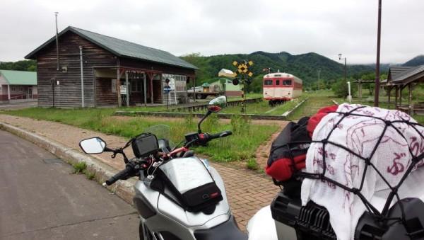 旧上興部駅