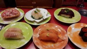 【北海道釧路市】 回転寿司 なごやか亭 生くじらやズワイガニなど