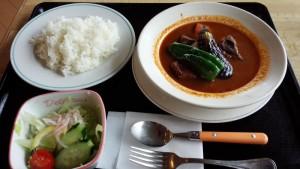 【北海道釧路市】 サークルハウス赤いベレー 「阿寒もみじエゾシカスープカレー」