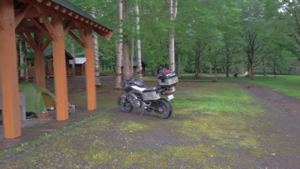 【北海道士別市】 岩尾内湖白樺キャンプ場