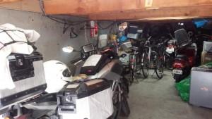 サッポロインNADAのガレージ
