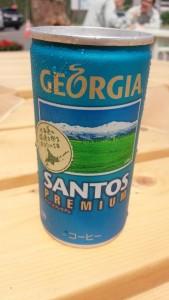 ジョージアの北海道限定コーヒー