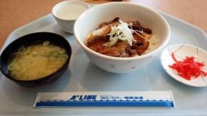 【沖縄県外洋】 飛龍21 カルビ丼(汁つき)