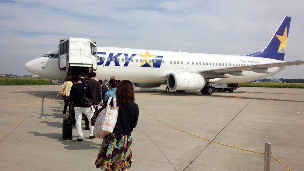 茨城空港から那覇へ