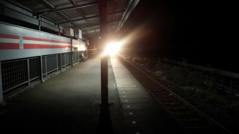 早朝の大洗鹿島線