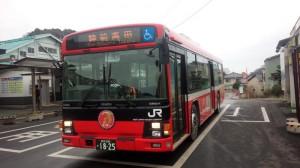 路線バス(陸前高田行き)