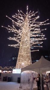 札幌大通公園 さっぽろホワイトイルミネーション