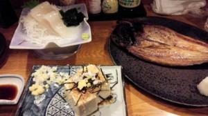 【北海道札幌市】 根室食堂 「イカ刺しやらホッケやら」