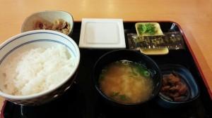 【青森県青森市】 吉野屋 納豆定食