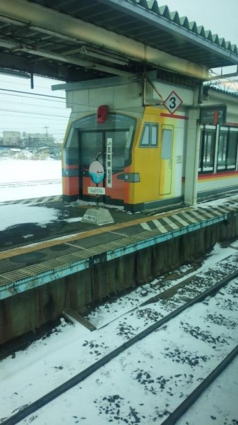 五能線起点駅 東能代駅