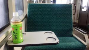 奥羽本線車内