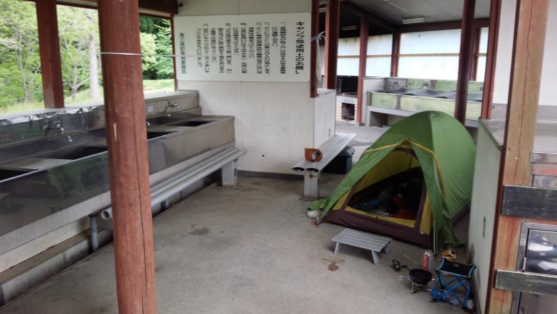 【宮城県南三陸町】 平成の森キャンプ場にて