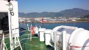新門司港に入港中