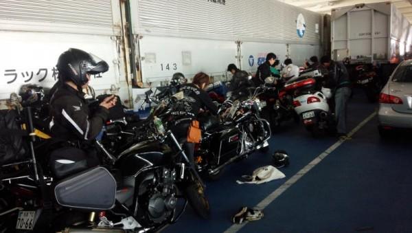 バイク野郎、九州上陸準備中