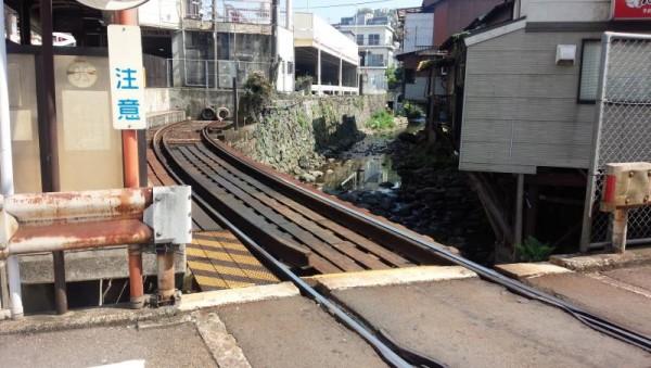 端っこその3(正覚寺駅)