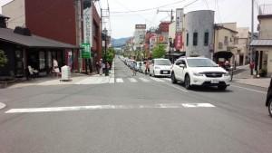 2016年5月5日 GW 渋滞する湯布院市街