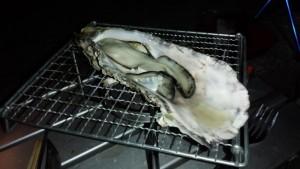 牡蠣焼き上がり