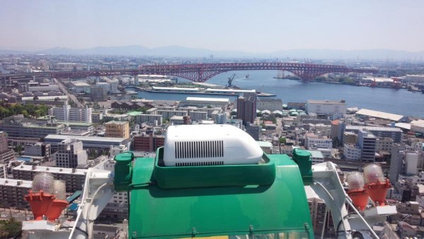 天保山大観覧車からの眺め