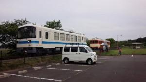 【茨城県鉾田市】 ほっとパーク鉾田 鹿島鉄道の車両