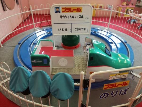 プラレール乗り場(磐越東線)