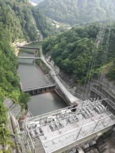 矢木沢ダム水力発電所