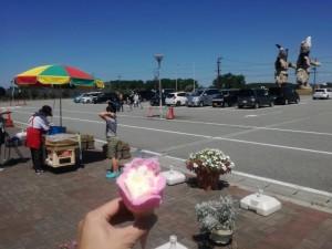 【秋田県男鹿市】 男鹿総合観光案内所 「ババヘラアイスと巨大なまはげ」