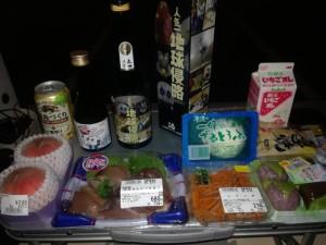 道の駅 七ヶ宿にて車中泊&プチ宴会