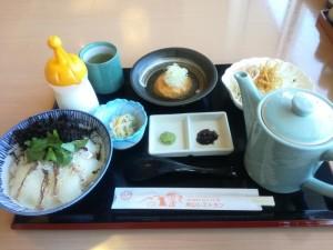 【新潟県柏崎市】 米山SA 「鯛茶御膳」