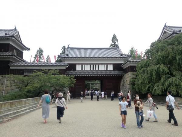 上田城入り口
