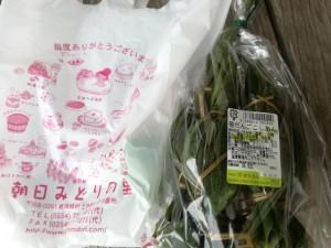 【新潟県村上市】 道の駅 朝日 「笹だんご(こしあん)」