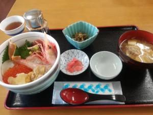 【宮城県女川町】 ニューこのり 「海鮮五色丼」
