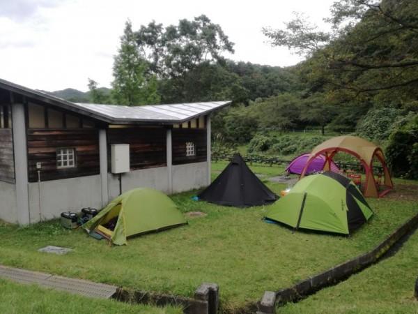 【岩手県大衡村】 達居森と湖畔自然公園キャンプ場