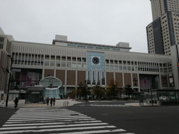 札幌駅の外観