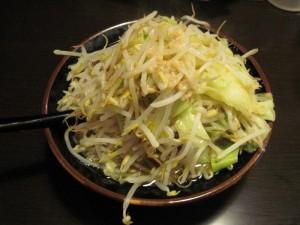 【水戸市】 麺屋 荒井 らーめん(野菜中盛り&ニンニク)