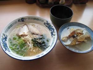 【岩国市】 食堂イッパチ 開運ラーメン&貝汁
