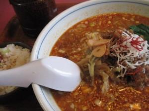 【日立市】 蘆山 坦々麺&〆ごはん