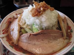 【筑西市】 らーめん馬鹿 神屋「GOD-YA」 風神チャーシュー麺(中盛り)