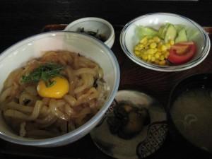 【青森県青森市】 あおもり健康ランド 「イカソーメン丼セット」