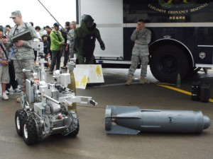 「米軍の爆弾処理ロボット」 (G1 NFD24mm)