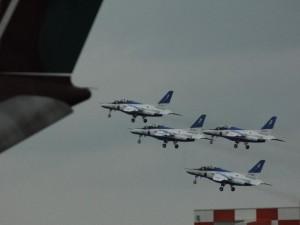 「ブルーインパルス 離陸」 (G1 NFD200mm)