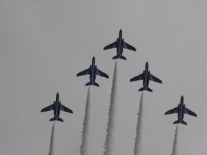 「ブルーインパルス 編隊飛行」 (G1 NFD200mm)