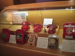 『逓信総合博物館』 「赤電話各種」