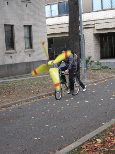 『Make: Tokyo Meeting』 魔女の宅急便の自転車