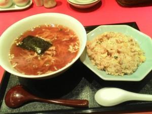 【日立市】 中華食堂 天海 「ラーメン・チャーハンセット」
