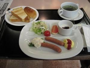 「駅前フジグランドホテルの朝食(洋食)」