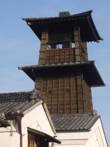 川越のシンボル「時の鐘」 (G1 NFD50mm)