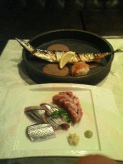 【宮城県仙台市】 梅鉢 「焼きサンマとサンマ刺し」
