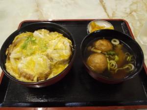 【宮城県登米市】 つか勇食堂 「油麩丼&ミニはっと汁」