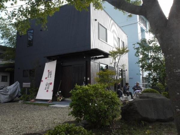 「ゲストハウス梅鉢 中庭」 (G1 M.ZUIKO DIGITAL 14-42mm F3.5-5.6)