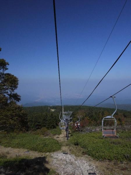 「天元台高原 リフトからの眺め」 (G1 M.ZUIKO DIGITAL 14-42mm F3.5-5.6)